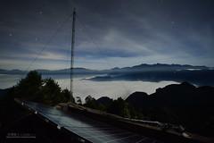 雲海方舟 (風景獵人) Tags: taiwan 台灣 風景 風景獵人 landscape 星空 sky night 銀河 阿里山 嘉義 chiayi 森林 雲海 霧 fog 琉璃光