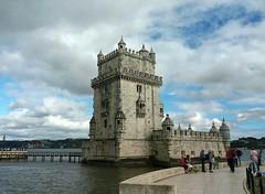Torre de Belém (~J♡onbicykle ☞) Tags: portugal lisbon lisboa torredebelem river tag tower baszta