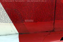 0007 Name on XX322 tail (photozone72) Tags: aviation airshows aircraft airshow canon canon80d canon24105f4l 80d yeovilton yeoviltonairday raf redarrows reds redwhiteblue rafat