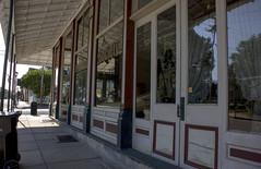Golconda, IL 02 (Christopher Elliot Taylor) Tags: 2752 outdoors sidewalk building architecture mesker historic canont1i affinityphoto smalltownusa mainstreetamerica golcondaillinois southernillinois illinois