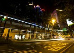 Hong Kong Trails (fantommst) Tags: lisaridings fantommst hongkong hk china western central night cityscape lights trails traffic