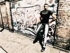 Kael MansShirt Hell (JohnnyWalker29 Resident) Tags: man fashion mode style kael shirt
