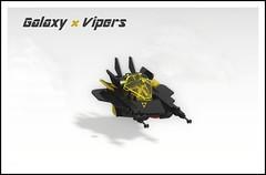 IDEAS project: Galaxy Vipers - Neo Blacktron (Mathijs Dubbeldam) Tags: classicspace lego legoideas scifi vehicle blacktron neoblacktron space aerospacejet fighter
