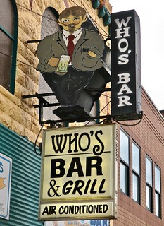 Who's Bar, Superior, WI