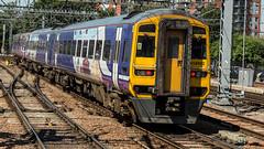 158902 (JOHN BRACE) Tags: 1992 brel derby built class 158 dmu 158902 seen leeds northern trains livery