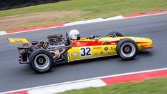 Lola T142 (Jez22) Tags: lola t142 1968 formula 5000 race racing car automobile copyright jeremysage brandshatch yellow speed fast vintage coche voiture worldcar
