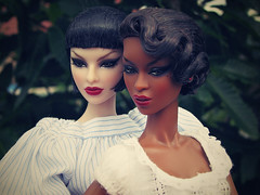 TAG GAME - DOLLS WITH SHORT HAIR (nauriel :-)) Tags: fashion royalty luchia hopelessly captivating adele makeda exquise