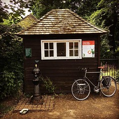 Robin Hood Gate (tonyhall) Tags: cycling richmondpark place