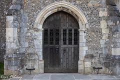 St Peters Bishops Waltham Church Door. (Meon Valley Photos.) Tags: st peters bishops waltham church door ngc