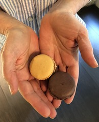 Macarons for Two (GregKoren) Tags: westbankparis patisserie macaron meringue cookie paris france