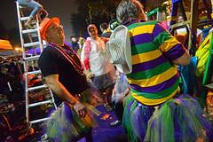 Jim & Ken (BKHagar *Kim*) Tags: bkhagar mardigras neworleans nola la parade celebration people crowd beads outdoor street napoleon uptown orpheus night fun brother husband jim ken tutu