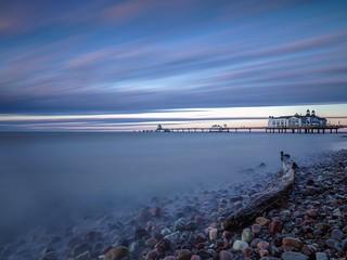 Sonnenuntergang, Sellin auf Rügen - Sunset