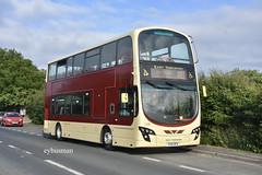 Go Ahead East Yorkshire 783, YX14HFA. (EYBusman) Tags: go ahead north east yorkshire eyms hull bus coach hornsea road skipsea village wright eclipse gemini volvo b9tl yx14hfa eybusman