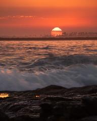 Corona Del Mar 02 (RyanLunaPhotography) Tags: california coronadelmar fuji fujifilm newportbeach ocean orangecounty socal southerncalifornia xt2 beach landscape seascape sunset