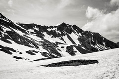 Lac de Roburent (aria_thewanderer) Tags: mountain mountainscape bnw black white nature landscape nikon snow beautiful italy france sky adventure darkness lights d5200 wild folk hike