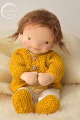 """13.5"""" Baby Doll by waldorfdollshop (Waldorfdollshop) Tags: waldorfdoll waldorfdollshop waldorf waldorfbabydoll steinerdoll inspired naturaldoll naturalfibreartdoll natural baby doll collectable sculpted ooak babydoll babywaldorfdoll babyartdoll"""