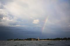 Calm Before the Storm (Katie J Marsden) Tags: documentary cityscape photography water venice north east italy italia nikon d5200 boat venezia veneto venetian lagoon