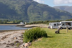 Bunrie Campsite (doublejeopardy) Tags: campsite bunrie beach scotland highlands lochlinnhie sea onich unitedkingdom gb