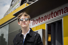 berlin (geetakesphotos) Tags: photoautomat photo booth portrait berlin travel