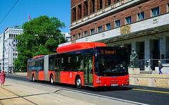 Ruter / Unibuss 1296 - Oslo (rvdbreevaart) Tags: ruter oslo man lionscity gelede bus openbaarvervoer publictransport öpnv cng gnc