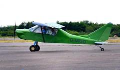 G-IAGO (goweravig) Tags: giago visiting aircraft swansea wales uk swanseaairport groppo trail trailmk2