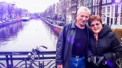 Mum & Dad (Travis Daki) Tags: mother father mum mom mama momma dad pa papa woman man amsterdam canal bridge love