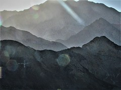 Is there gold in those mountains (thomasgorman1) Tags: mountains baja canon light refraction mexico driving desert sundown nature remote landscape