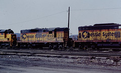 Baltimore & Ohio 6437 (CPShips) Tags: bo chessiesystem emd gp9 cumberland 1978