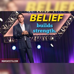 Belief builds strength. #belief #strength #quotes #truth (Marc Accetta Seminars) Tags: belief strength quotes truth