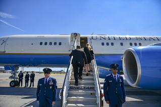 Secretary Pompeo Departs New York