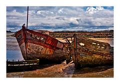 cimetière de bateaux (4) (Marie Hacene) Tags: noirmoutier cimetière bateaux anciens vieux textures vendée