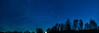 Starry Sky at Hof - Upper Franconia, Germany (dejott1708) Tags: starry sky hof upper franconia germany setting moon stars trees night