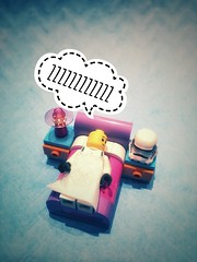 Good Night (bs1ffm) Tags: brick lego toyphotographie smartphones iphone new flickr toy stormtrooper spielzeug toys starwars brickographie tabletop studio sleep gn8