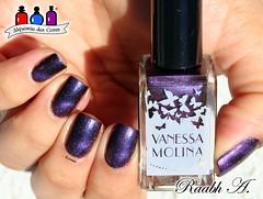 Vanessa Molina - Magnetic Hendrix (Raabh Aquino) Tags: macromademoiselle magnético roxo purple nails unhas esmalte verniz para nailpolish