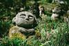 The Face of Contentment (Trent's Pics) Tags: otaginembutsuji buddha buddhist contentment japan kyoto lifestyle nembutsuji otagi shrine spiritual statue statues temple