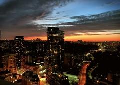Beautiful Sunset (shahzad.alvi) Tags: takenfromiphone beautiful flickerfriday weekend june summer sunset downtown toronto