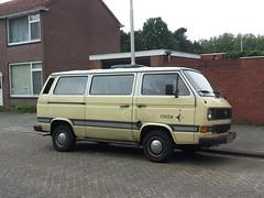 VW Caravelle C Diesel Westfalia Joker 1984 (929V6) Tags: kr26sj sidecode4 t3 volkswagen transporter