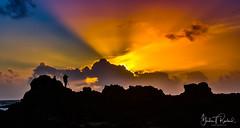 colours (1 of 1) (gordonrowland1) Tags: sunset sun night northernireland portballintoy northcoast sunsets sky clouds