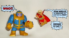 Adam Warlock and Thanos