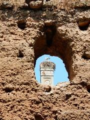 Chellah, Minaret and Laclacs (Mulligan Stu) Tags: cigogne phoenician laclac maroc morocco berber rabat marinid stork romanruins almohad phoenicianruins roman chellah
