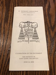 Always a sight to see when you're in NYC. ⛪️ And a blessing to attend one of its eucharistic celebrations. 🙏 #gratitude #Sunday #Mass #sfamilytravels #StPatricksCathedral #Manhattan #NY (Travel Galleries) Tags: usa trip travel famous church saint patrick cathedral nyc eucharistic celebration june 24 2018 sunday mass manhattan ny gratitude sfamilytravels stpatrickscathedral