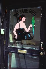 The Rare Bird, SOHO (bidutashjian) Tags: nyc soho lower manhattan storefront ny bird lost street new york city doorway sign door