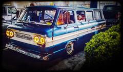 vintage Chevy Van from the 1960's (delmarvausa) Tags: chevy van vintage sixties 1960s oldvan chevrolet chevyvan vehiclesofthe1960s 60s chevroletvan bus oldbus occruisin cruisinweekend oceancity delmarva delmarvacarshows maryland carshow delmarvapeninsula oc2k18 cruisinoceancity marylandcarshows