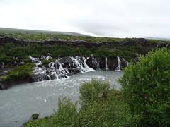 Islandia Cascada de Hraunfossar rio Hvita 03 (Rafael Gomez - http://micamara.es) Tags: islandia cascada de hraunfossar rio hvita cataratas cascadas y río hvitá