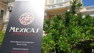 Exposicion Temporal de los Mexicas en el Palacio Canton