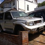 neglected 1998 JDM Mitsubishi Pajero Evolution 3.5Litre V6 Twin Turbo thumbnail