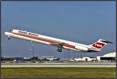 N902TW TWA - Trans World Airlines (Bob Garrard) Tags: n902tw twa trans world airlines mcdonnell douglas md82 dc982 american mia knia