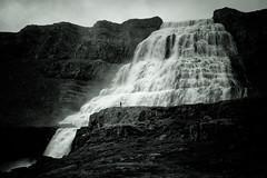 Dynjandi Waterfall, Iceland (Mustang Joe) Tags: nikon 2018 cruise d750 westfjordsregion iceland is black white