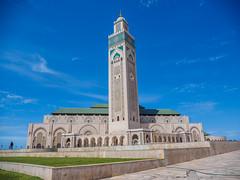 Hassan II Mosque, Casablanca, Morocco (Rebecca_Wilton) Tags: casablanca casablancasettat morocco ma 2018 spring olympus em1 mzuikodigital12100mm hassan ii mosque hassaniimosque grandemosquéehassanii مسجدالحسنالثاني