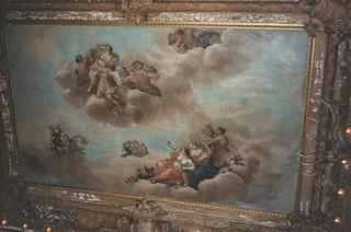Vanderbilt Mansion National Historic Site - Hyde Park New York -  United States - Ceiling Mural